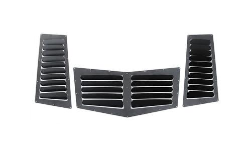 E36 Standard Hood Vent Complete Set (3 pieces)
