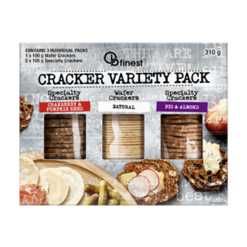 Ob Finest Crackers Variety Pack