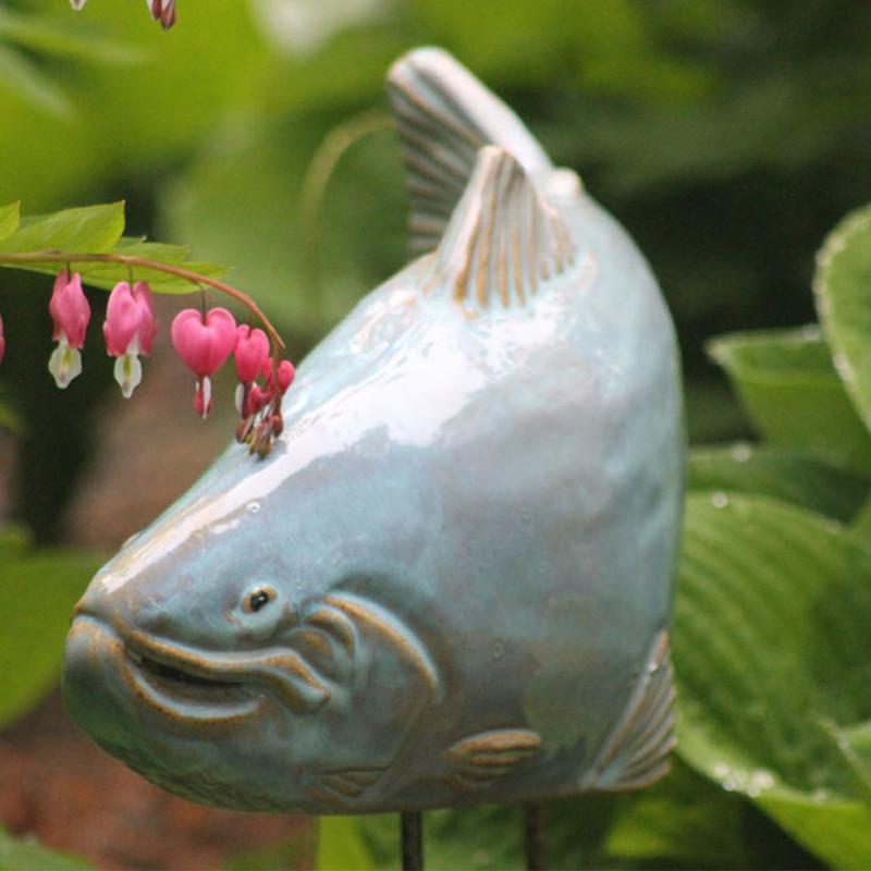 Ceramic Fish Up Close