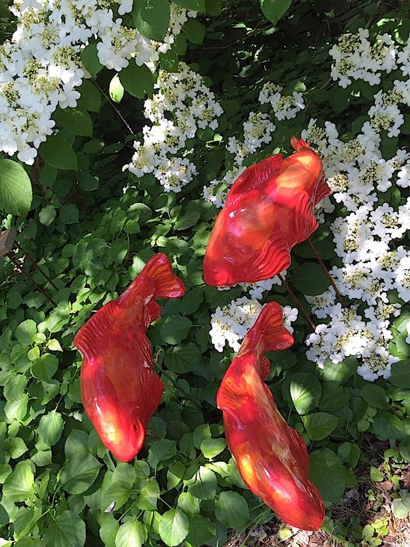 Salsa Koi Garden Art (sold individually)