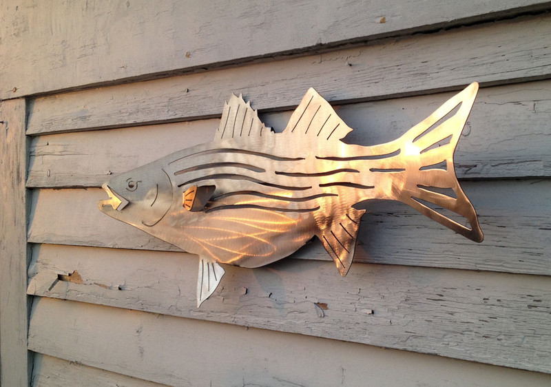 """30"""" Stainless steel wall bass"""