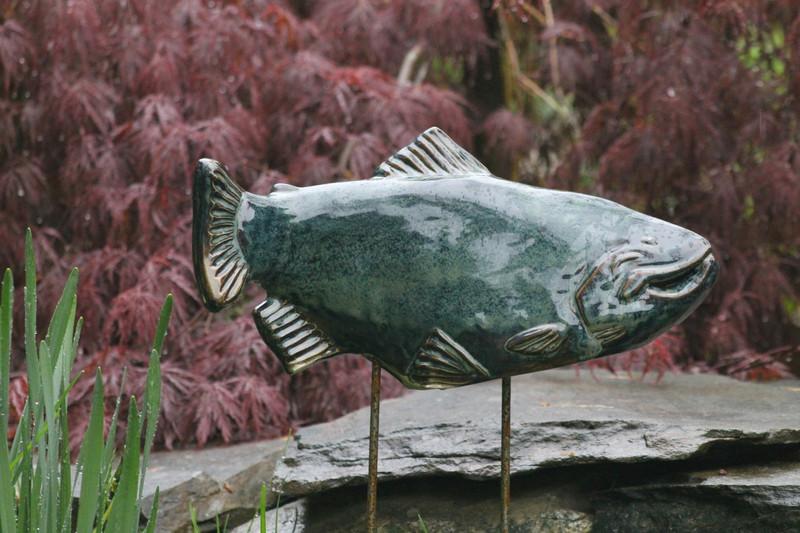 Celestial Trout Garden Art-  sold individually