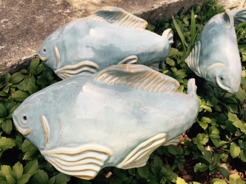 Opal Koi Garden art