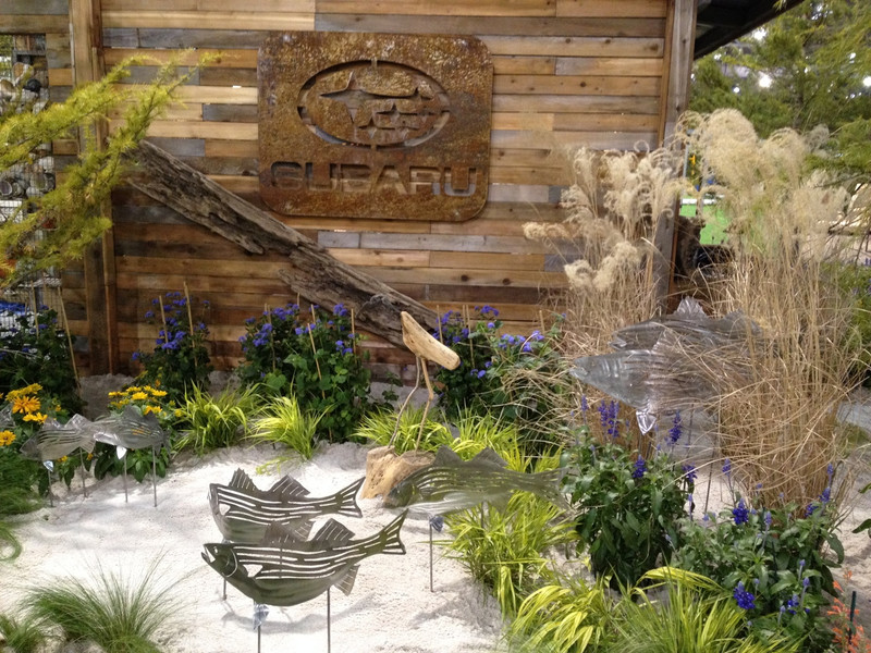 As seen in the Subaru (corporate sponsor) exhibit at the 2014 Philadelphia Flower Show.