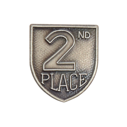 Medal Insert - 2nd Place (Silver)