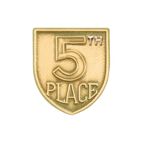 Medal Insert - 5th Place (Gold)