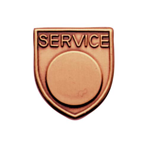 Medal Insert - Service (Bronze)