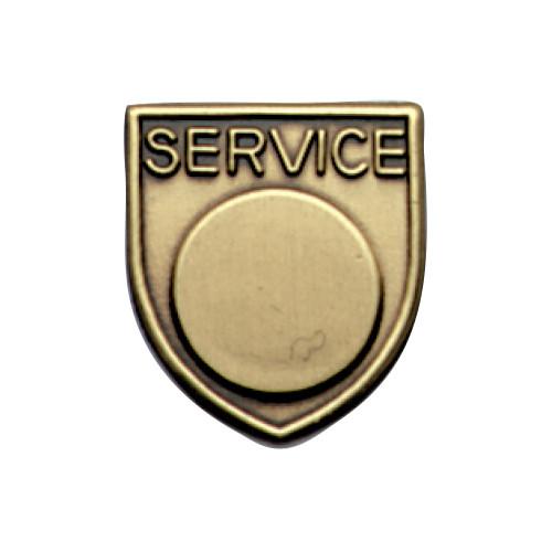 Medal Insert - Service (Gold)