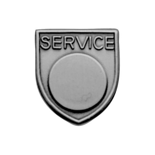 Medal Insert - Service (Silver)