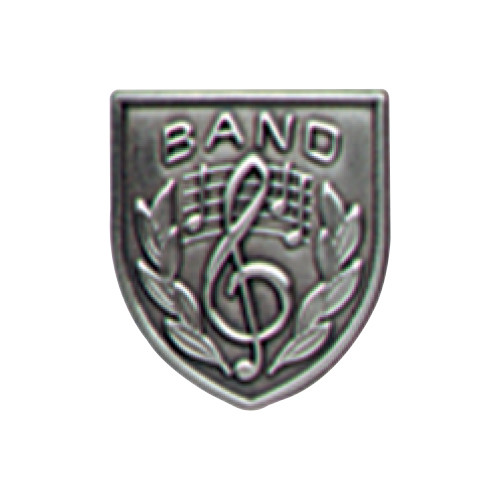 Medal Insert - Band (Silver)
