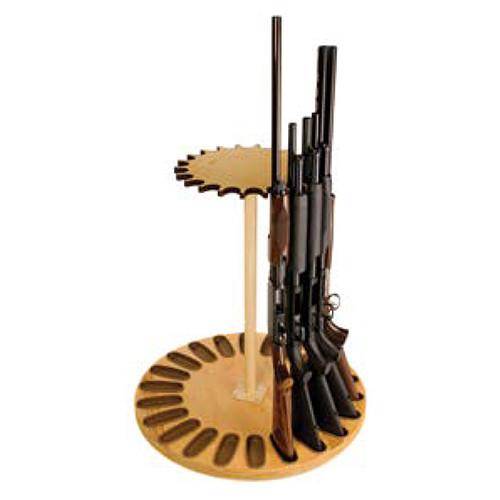 Magnetic 22-Gun Rotary Gun Rack