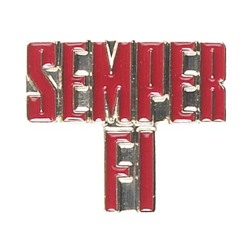 """""""Semper Fi"""" Pin"""