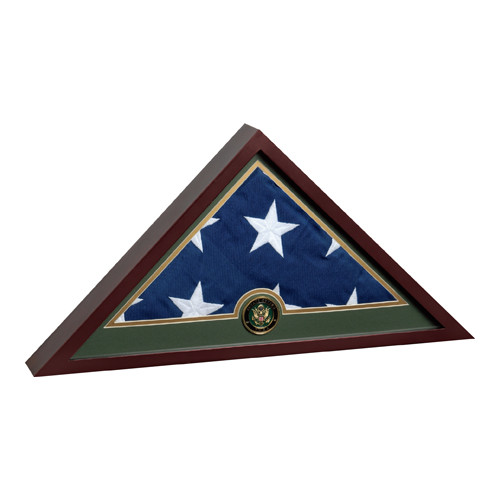 Armed Forces Flag Display Cases