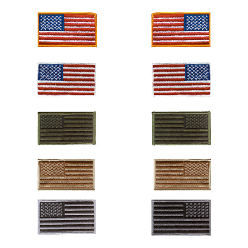US Flag Patches/Pins/Decals