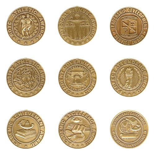 N-Series Award Medals, Engraved