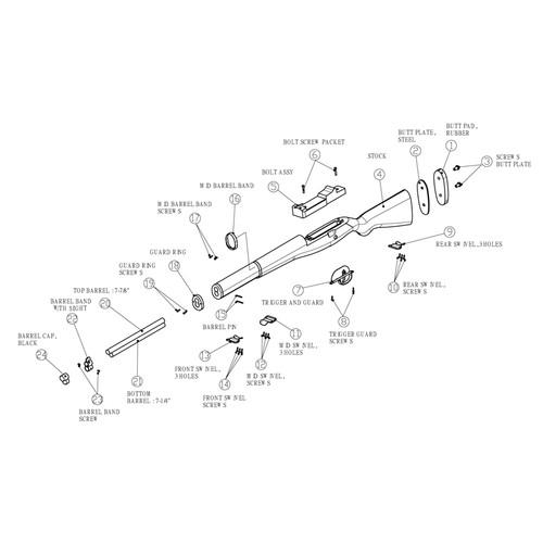 DrillAmerica® M1000 Rifle Parts