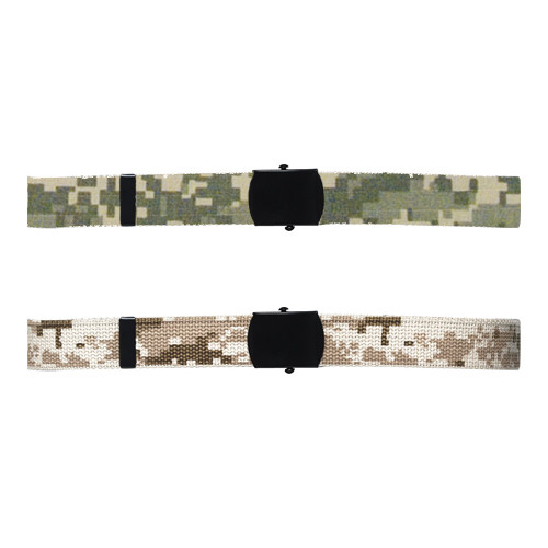 ACU Digital Reversible Cotton Web Belts