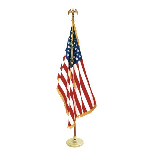 US Mounted Flag Sets