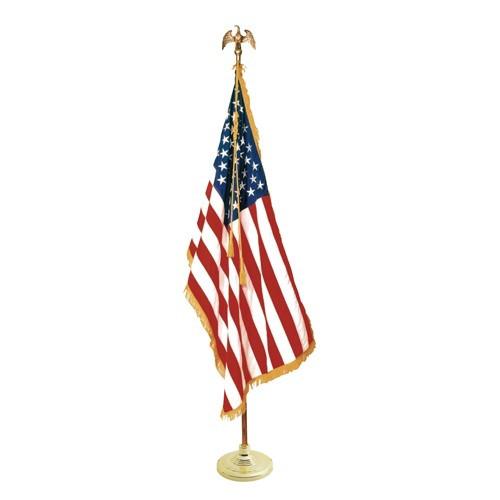 US Mounted Flag Sets