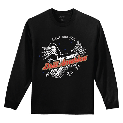 DrillAmerica® Long Sleeve Tee Shirts