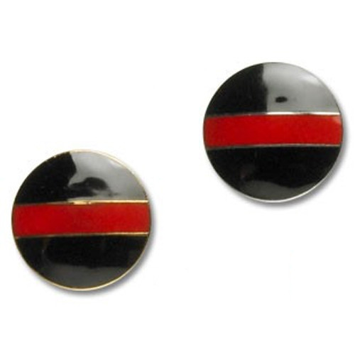 Firefighter Mourning Circle Pins