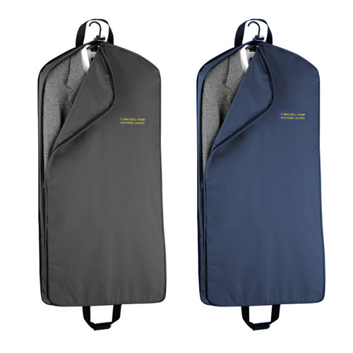 "Mid-Length Wally Garment Bag, 45"", Embroidered"