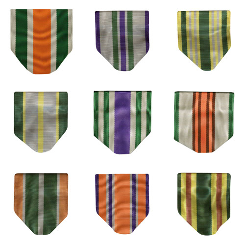 Army JROTC Ribbon Drape Awards (Series Numbers)