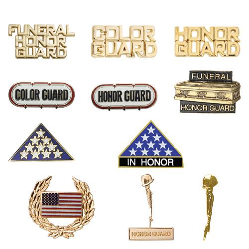 Ceremonial Guard Hat/Lapel Pins