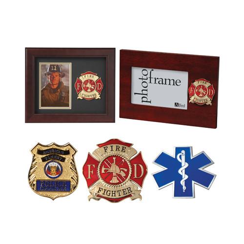 Civilian Services Medallion Picture Frames
