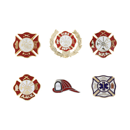 Firefighter Pins