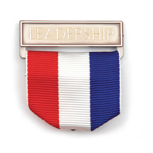 Ribbon Drape Bar Holder, Engraved