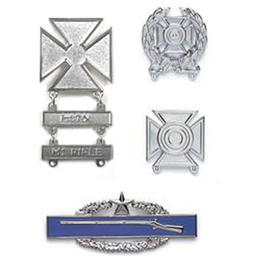 Combat & Qualification Breast Badges