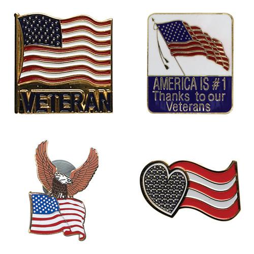 Veterans' Hat/Lapel Pins