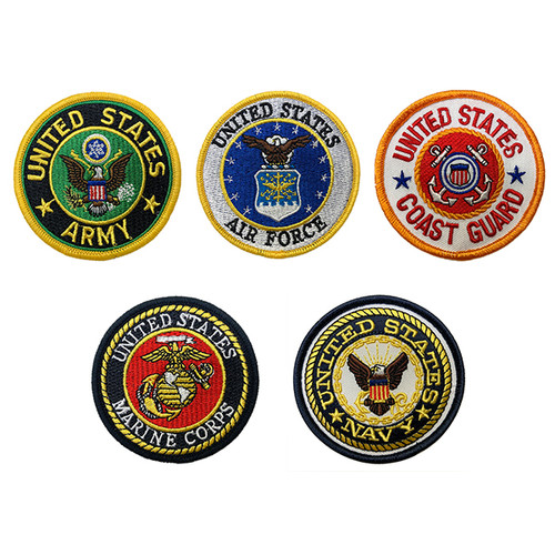 US Armed Forces Patches