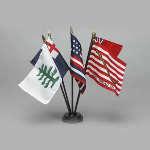Historical Miniature Flag Sets-Colonial Series #2