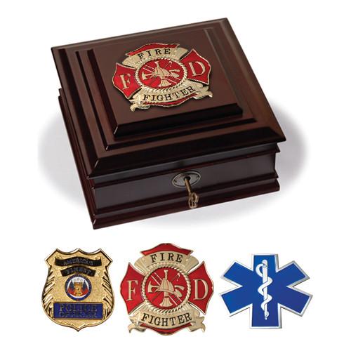 Civilian Services Medallion Desktop Boxes