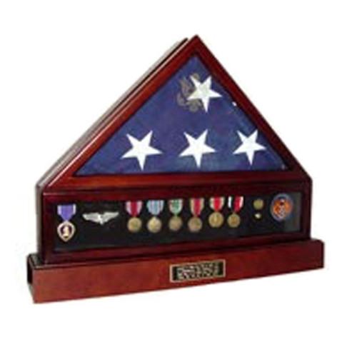Presidential Flag Set, Engraved