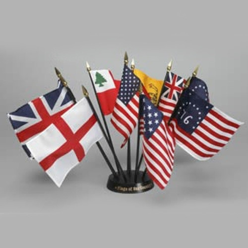 Historical Miniature Flag Sets - Flags of Our Country