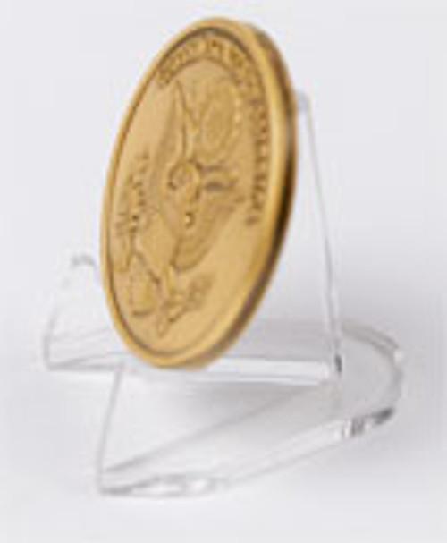 Clear Acrylic Coin/ Medallion Easel