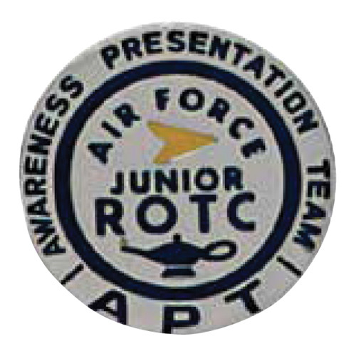 AFJROTC Badge: Awareness Presentation Team