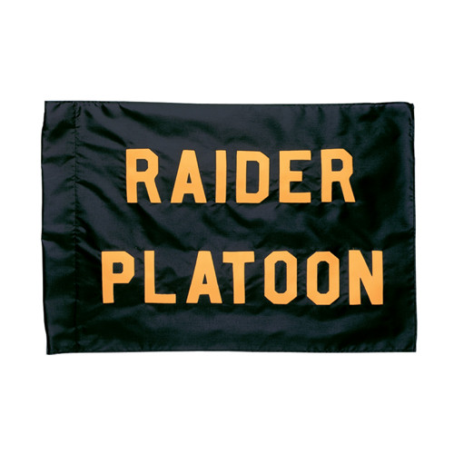 Raider Platoon Guidon Flag