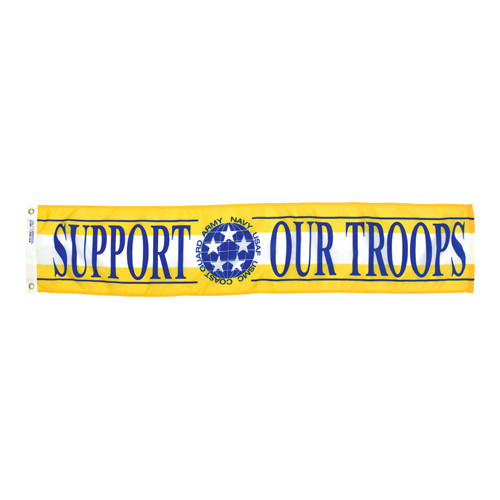 Support Our Troops Streamers