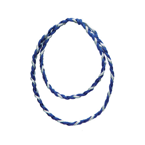 Double Circle Braided Cords: Two-Color/Metallic