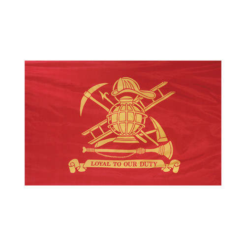 """Loyal to Our Duty"" Flag"
