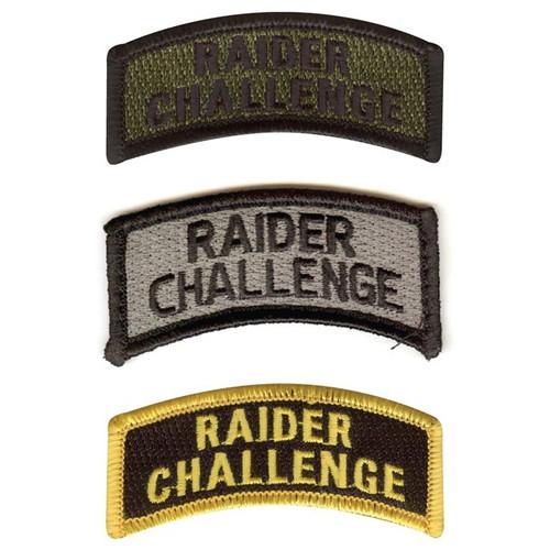Raider Challenge Tabs