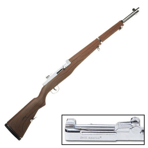 DrillAmerica® M1 Garand Replica Rifle, Engraved