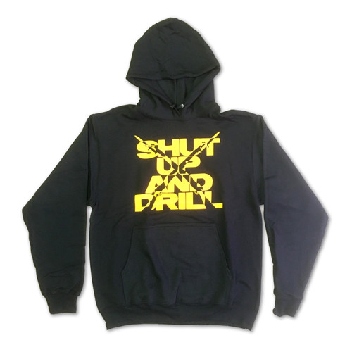 Shut Up and Drill Sweatshirt - Gold