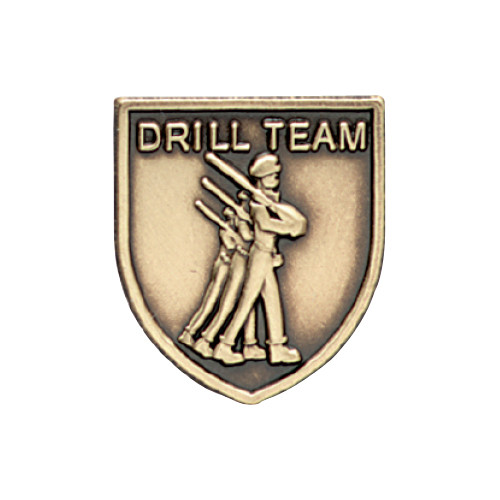 Medal Insert - Armed Drill Team (Gold)