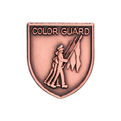 Medal Insert - Color Guard (Bronze)