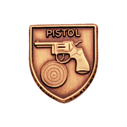 Medal Insert - Pistol (Bronze)